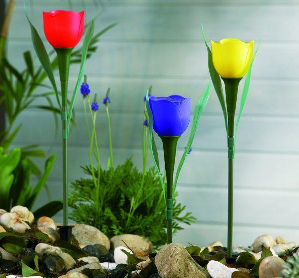 Szolár Tulipán Lámpa
