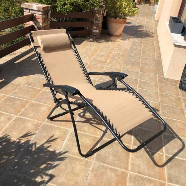 Amalfi relax összecsukható kerti kempingszék