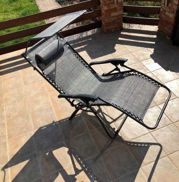 Amalfi xxl relax összecsukható kerti kempingszék