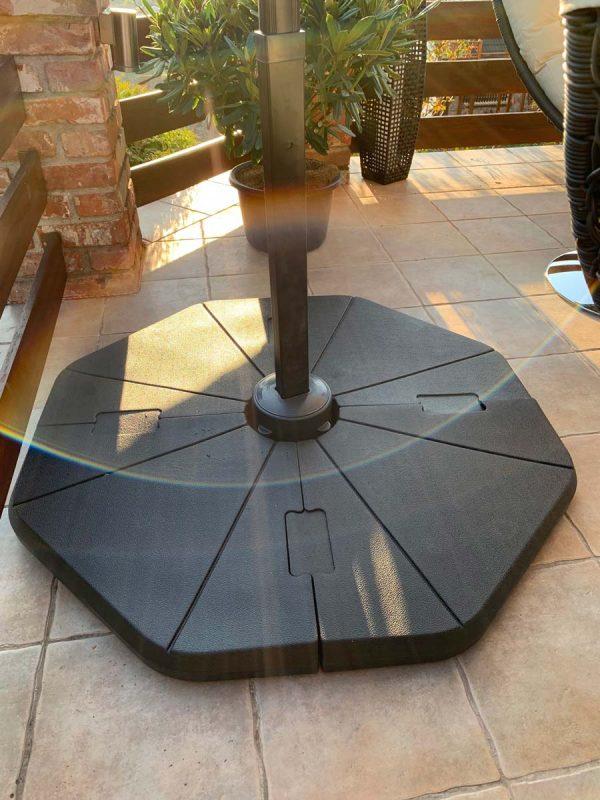 Róma kültéri napernyő talp