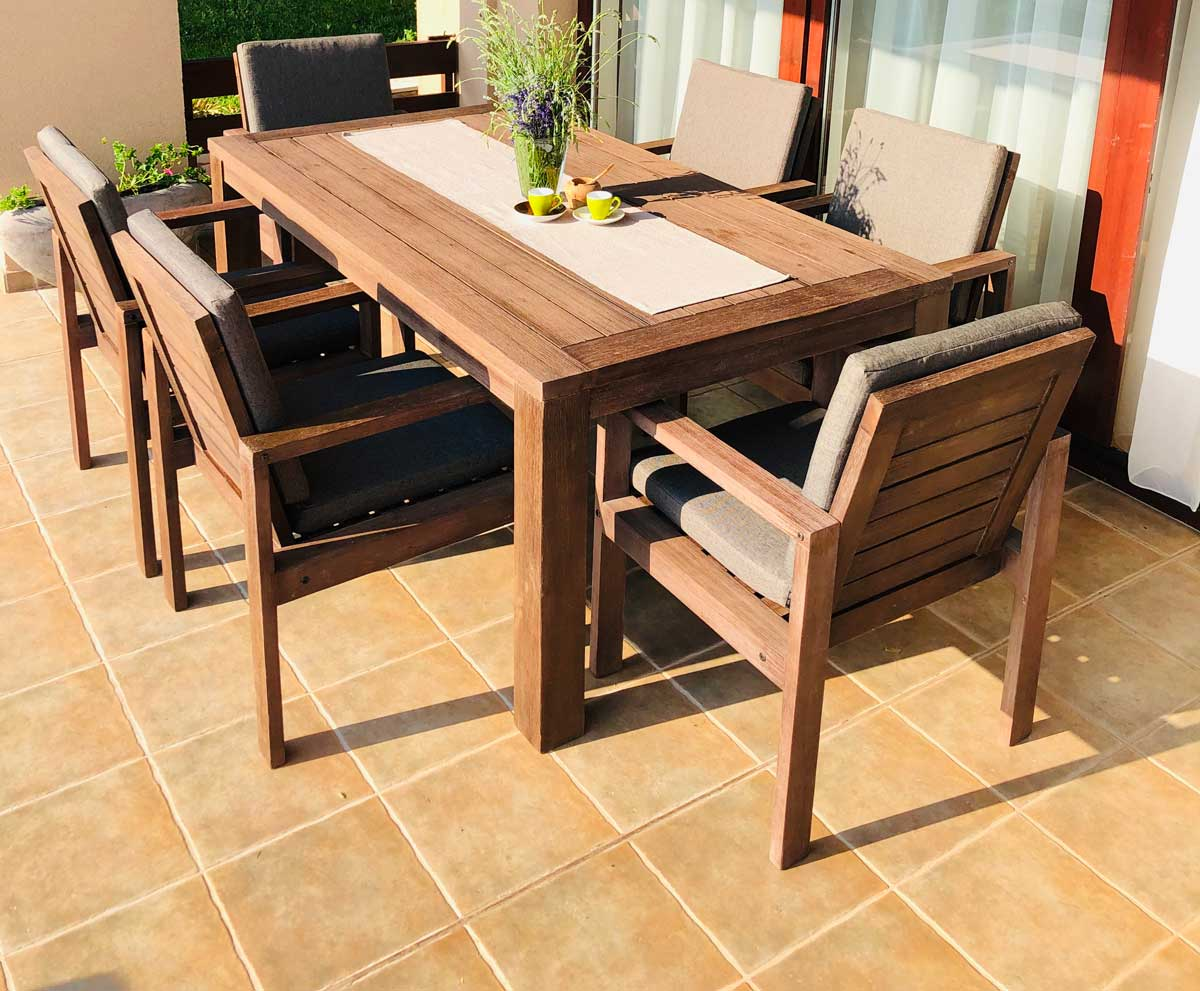 Fa étkező szék Adelaide Globero