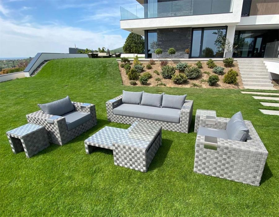 Luxus kerti ülőgarnitúra
